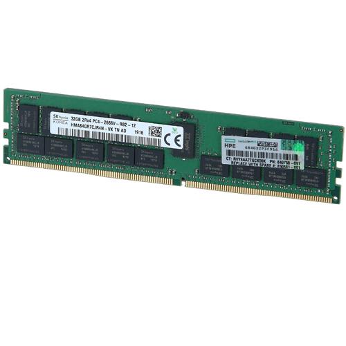رم سرور HPE 32GB 2RX4 PC4-2666V-R Smart Kit