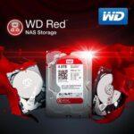 western digital red 4tb هارد دیسک