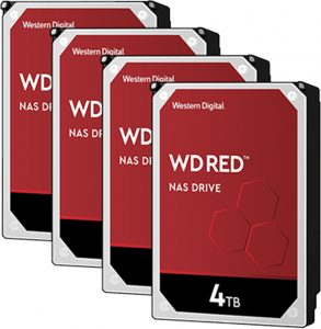 هارد وسترن دیجیتال 4ترابایت قرمز
