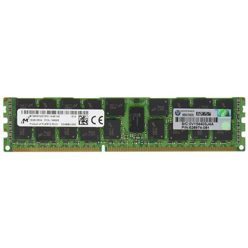 رم سرور اچ پی HP 16GB (1x16GB) Dual Rank x4 PC3L-10600
