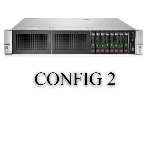 سرور اچ پی HP DL380 G9 8SFF