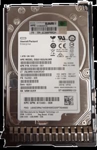 هارد HP 1.8TB 12G SAS 10K rpm SFF