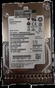 هارد HP 300GB 12G SAS 15K rpm SFF