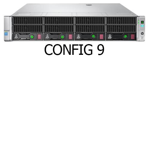 سرور اچ پی DL380 G9 4LFF